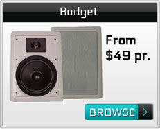 In Wall Speakers Recommended For Budget