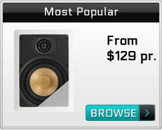 In Wall Speakers Most Popular Selling