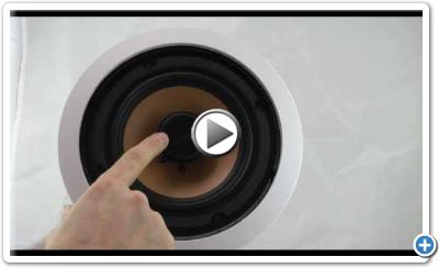 InwallTech™ M65.1C In-ceiling Speaker Video Review