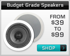 Ceiling Speakers Budget Grade