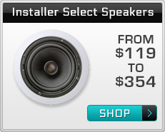 Ceiling Speakers Recommended by Installers