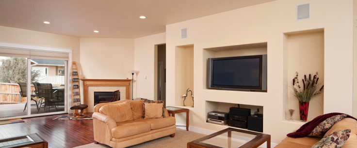 An In Wall Speaker System can deliver the home theater sound experience you crave!