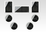 In Wall Speakers Home Theater