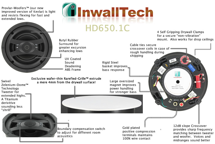 InwallTech HD650.1Csingle