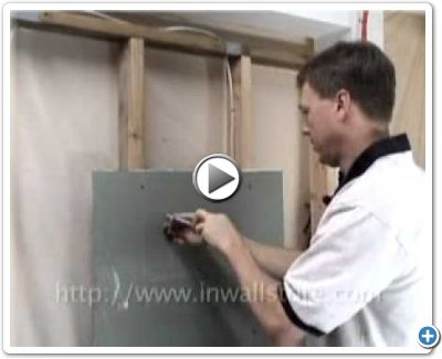 How to install an oversize center channel speaker horizontally